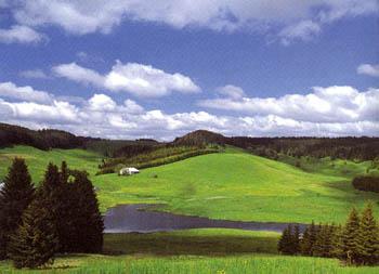 Randonnée les 4 lacs jura